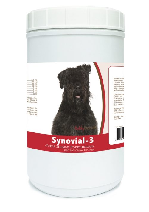 Healthy Breeds 840235101741 Bouvier des Flandres Synovial-3 Joint Health Formulation - 240 Count