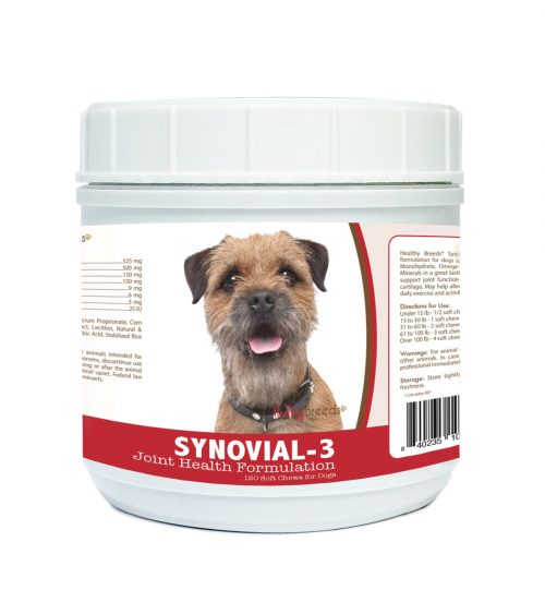Healthy Breeds 840235101864 Border Terrier Synovial-3 Joint Health Formulation - 120 Count