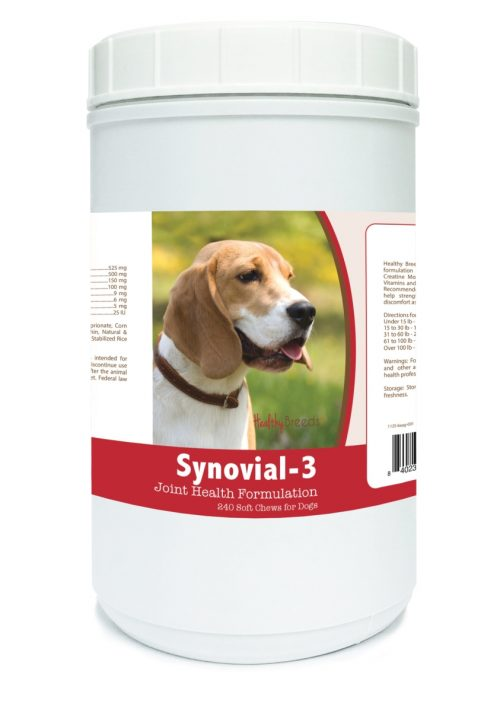Healthy Breeds 840235102199 Beagle Synovial-3 Joint Health Formulation - 240 Count
