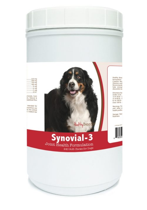 Healthy Breeds 840235102540 Bernese Mountain Dog Synovial-3 Joint Health Formulation - 240 Count