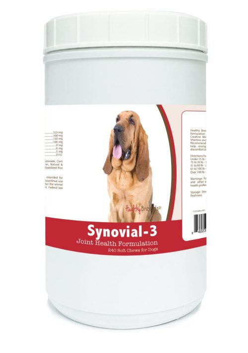 Healthy Breeds 840235102823 Bloodhound Synovial-3 Joint Health Formulation - 240 Count