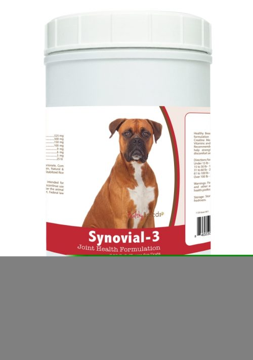 Healthy Breeds 840235103158 Boxer Synovial-3 Joint Health Formulation - 240 Count