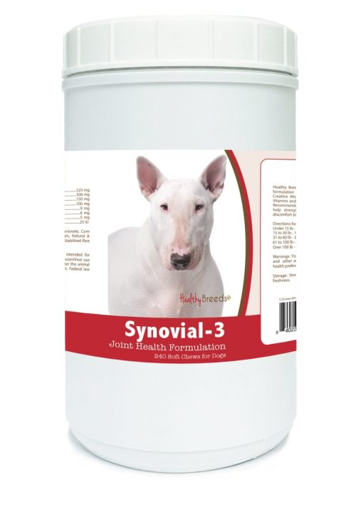 Healthy Breeds 840235103905 Bull Terrier Synovial-3 Joint Health Formulation - 240 Count