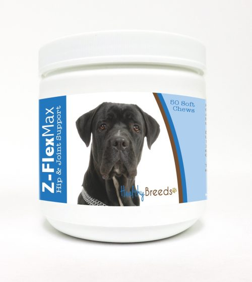Healthy Breeds 840235104315 Cane Corso Z-Flex Max Hip & Joint Soft Chews 50 Count