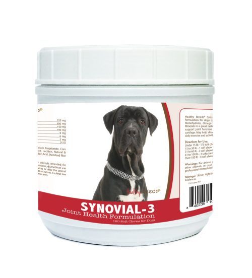 Healthy Breeds 840235104346 Cane Corso Synovial-3 Joint Health Formulation 120 Count