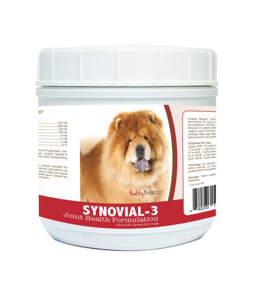 Healthy Breeds 840235104902 Chow Chow Synovial-3 Joint Health Formulation 120 Count