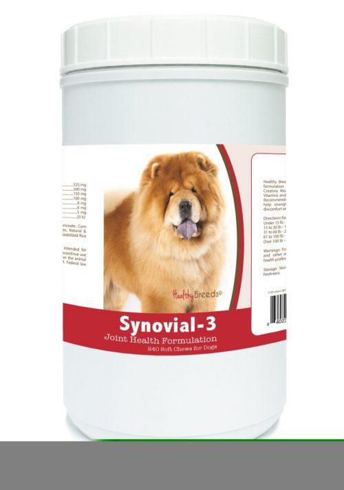 Healthy Breeds 840235104919 Chow Chow Synovial-3 Joint Health Formulation 240 Count