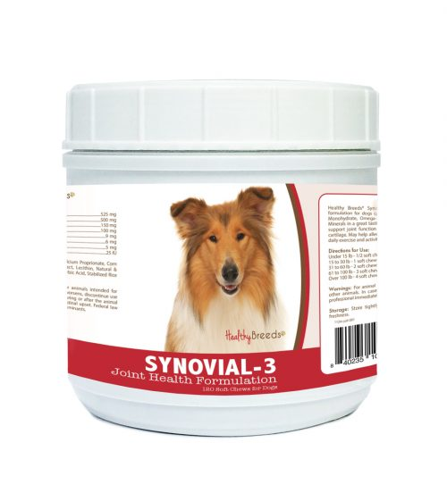 Healthy Breeds 840235105077 Collie Synovial-3 Joint Health Formulation 120 Count