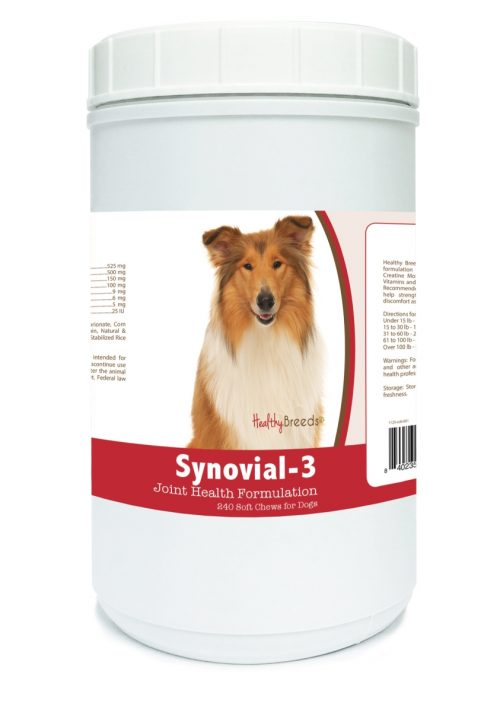 Healthy Breeds 840235105084 Collie Synovial-3 Joint Health Formulation 240 Count