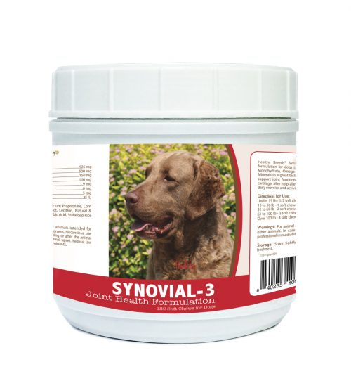 Healthy Breeds 840235105244 Chesapeake Bay Retriever Synovial-3 Joint Health Formulation 120 Count