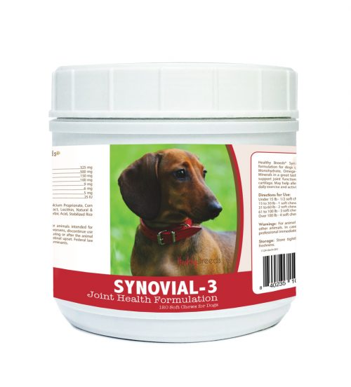 Healthy Breeds 840235105817 Dachshund Synovial-3 Joint Health Formulation 120 Count
