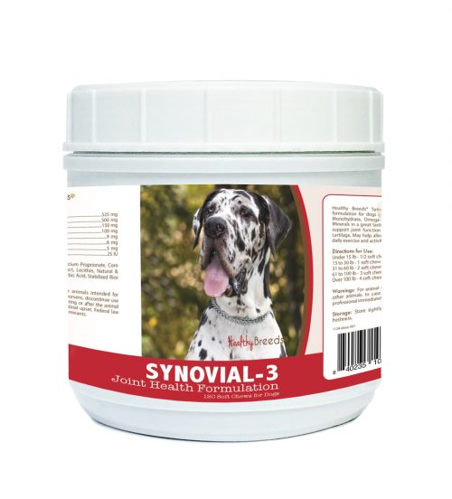 Healthy Breeds 840235106135 Great Dane Synovial-3 Joint Health Formulation - 120 count