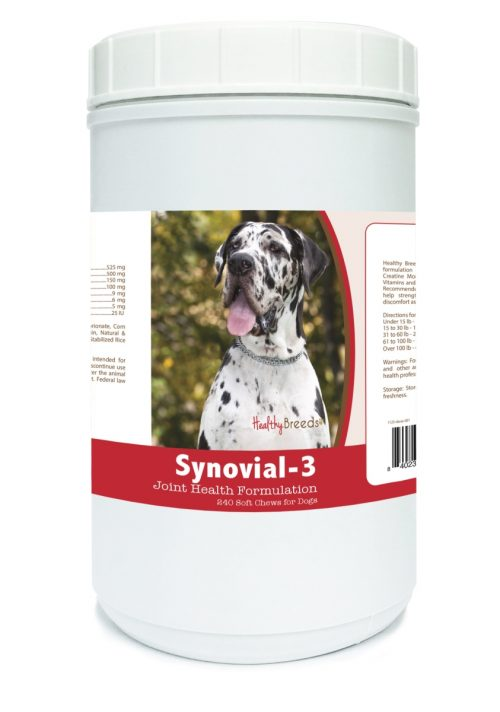 Healthy Breeds 840235106142 Great Dane Synovial-3 Joint Health Formulation - 240 count