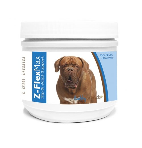 Healthy Breeds 840235106258 Dogue de Bordeaux Z-Flex Max Hip & Joint Soft Chews - 50 count