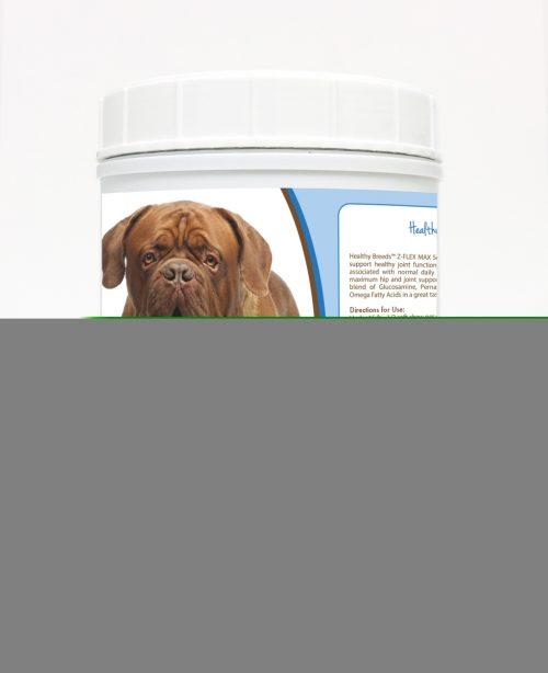 Healthy Breeds 840235106272 Dogue de Bordeaux Z-Flex Max Hip & Joint Soft Chews - 170 count