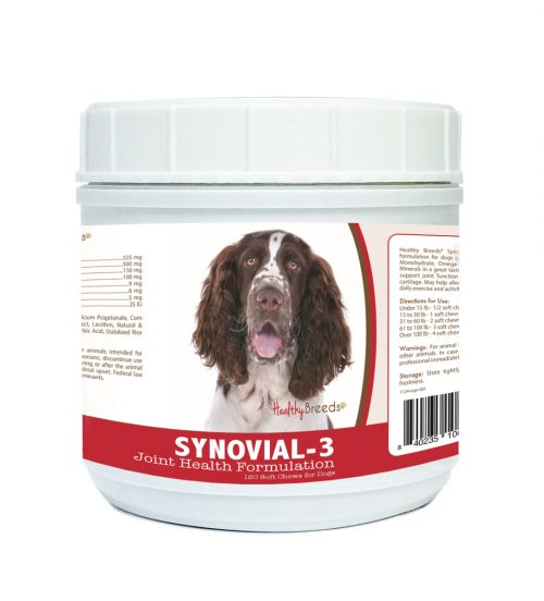 Healthy Breeds 840235106883 English Springer Spaniel Synovial-3 Joint Health Formulation - 120 count