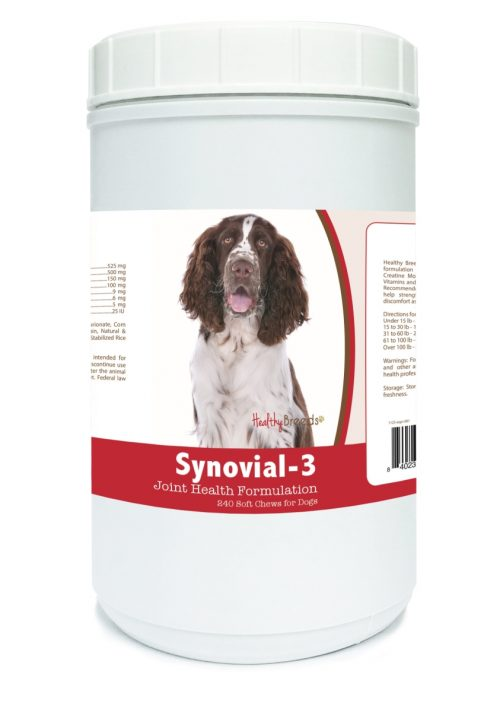 Healthy Breeds 840235106890 English Springer Spaniel Synovial-3 Joint Health Formulation - 240 count