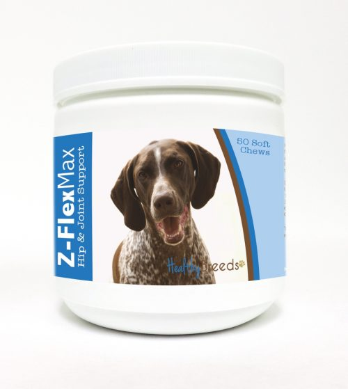 Healthy Breeds 840235108511 German Shorthaired Pointer Z-Flex Max Hip & Joint Soft Chews - 50 Count