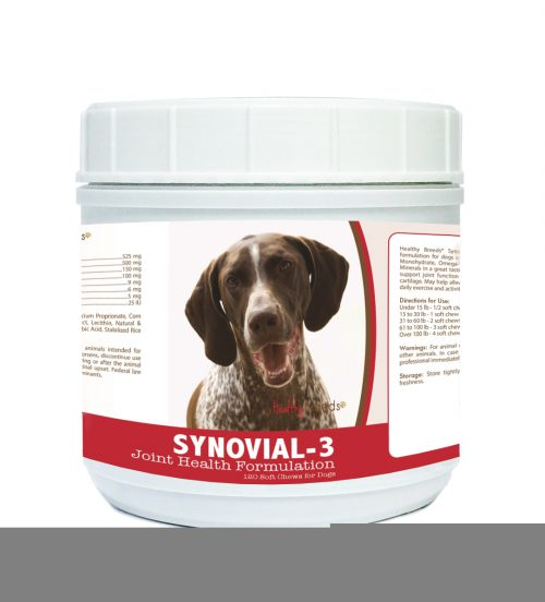Healthy Breeds 840235108542 German Shorthaired Pointer Synovial-3 Joint Health Formulation - 120 Count