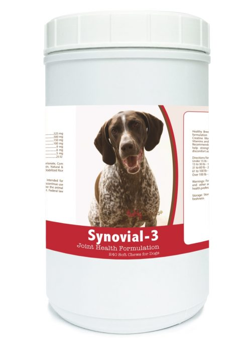 Healthy Breeds 840235108559 German Shorthaired Pointer Synovial-3 Joint Health Formulation - 240 Count