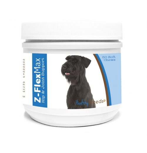 Healthy Breeds 840235108665 Giant Schnauzer Z-Flex Max Hip & Joint Soft Chews - 50 Count