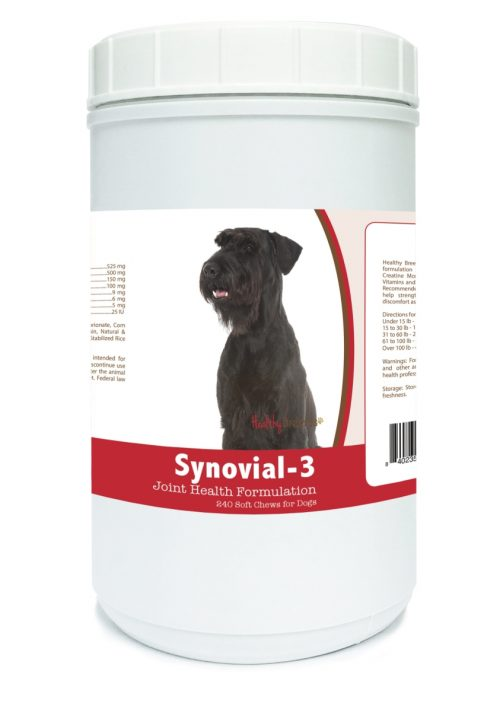 Healthy Breeds 840235108702 Giant Schnauzer Synovial-3 Joint Health Formulation - 240 Count