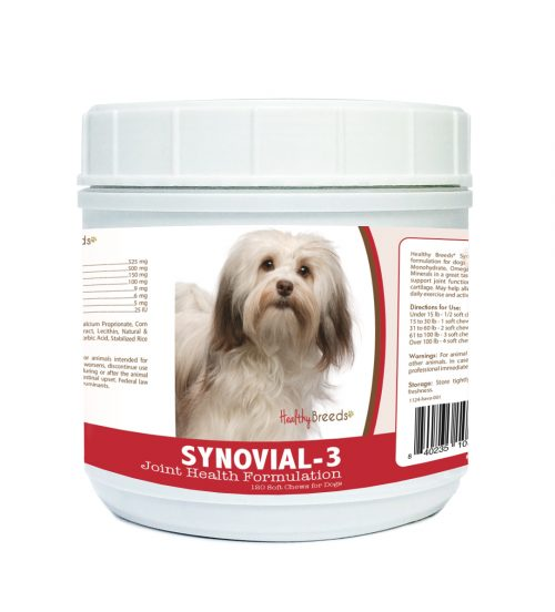 Healthy Breeds 840235108979 Havanese Synovial-3 Joint Health Formulation - 120 Count