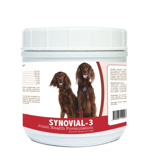 Healthy Breeds 840235109266 Irish Setter Synovial-3 Joint Health Formulation - 120 Count