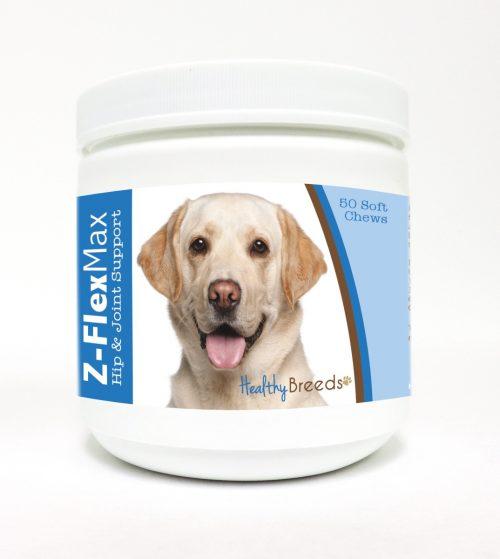 Healthy Breeds 840235109754 Labrador Retriever Z-Flex Max Hip & Joint Soft Chews - 50 Count