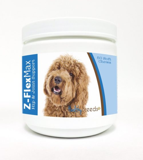 Healthy Breeds 840235110248 Labradoodle Z-Flex Max Hip & Joint Soft Chews - 50 Count