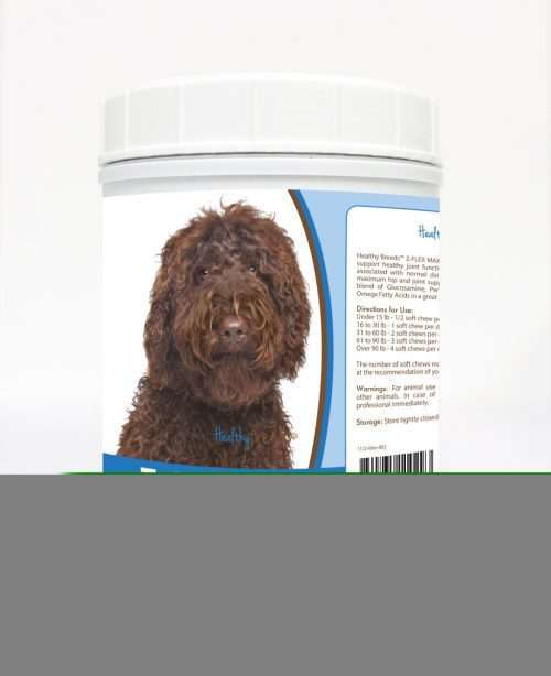 Healthy Breeds 840235110293 Labradoodle Z-Flex Max Hip & Joint Soft Chews - 170 Count