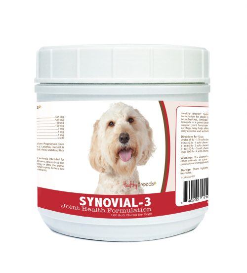 Healthy Breeds 840235110316 Labradoodle Synovial-3 Joint Health Formulation - 120 Count
