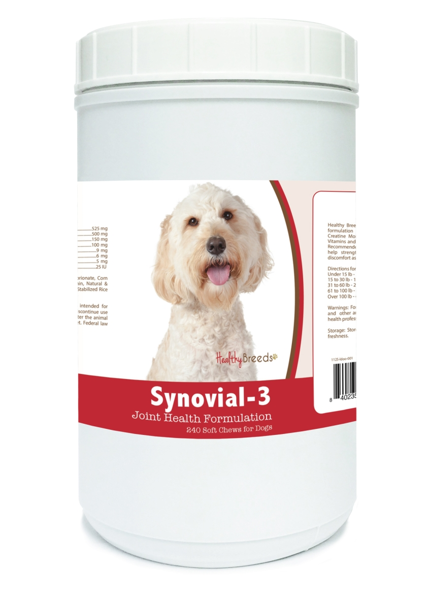 Healthy Breeds 840235110347 Labradoodle Synovial-3 Joint Health Formulation - 240 Count