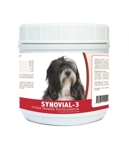 Healthy Breeds 840235110521 Lhasa Apso Synovial-3 Joint Health Formulation - 120 Count