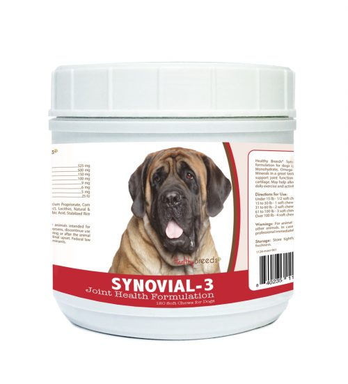Healthy Breeds 840235110811 Mastiff Synovial-3 Joint Health Formulation - 120 Count