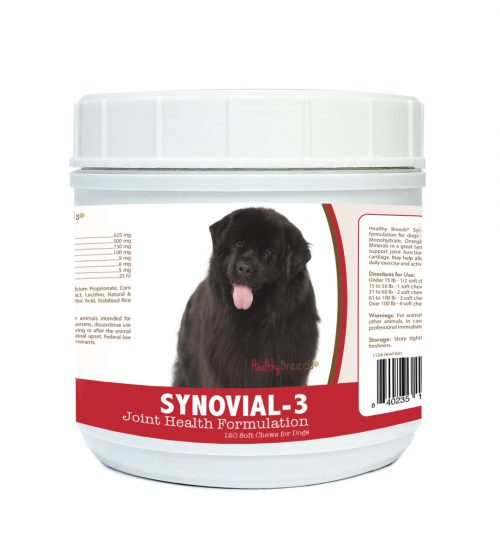 Healthy Breeds 840235111696 Newfoundland Synovial-3 Joint Health Formulation - 120 Count