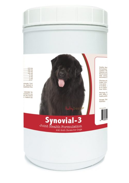 Healthy Breeds 840235111702 Newfoundland Synovial-3 Joint Health Formulation - 240 Count