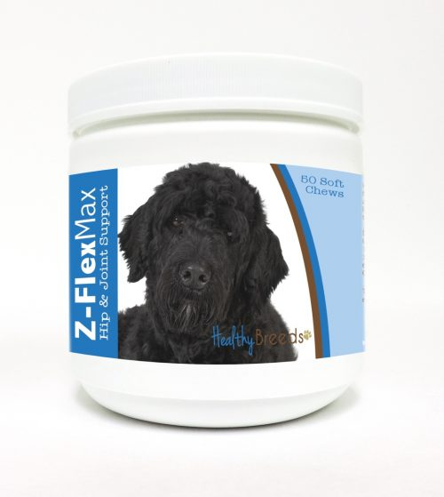 Healthy Breeds 840235112662 Portuguese Water Dog Z-Flex Max Hip & Joint Soft Chews - 50 Count