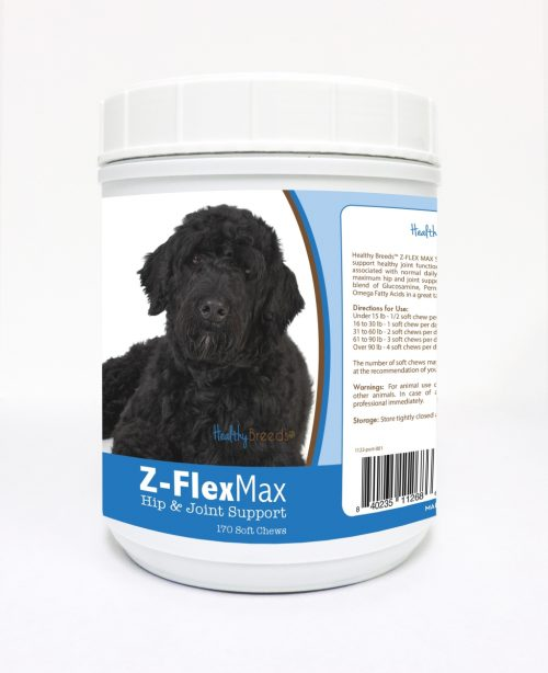 Healthy Breeds 840235112686 Portuguese Water Dog Z-Flex Max Hip & Joint Soft Chews - 170 Count
