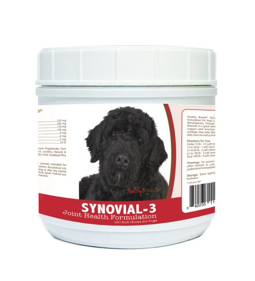 Healthy Breeds 840235112693 Portuguese Water Dog Synovial-3 Joint Health Formulation - 120 Count