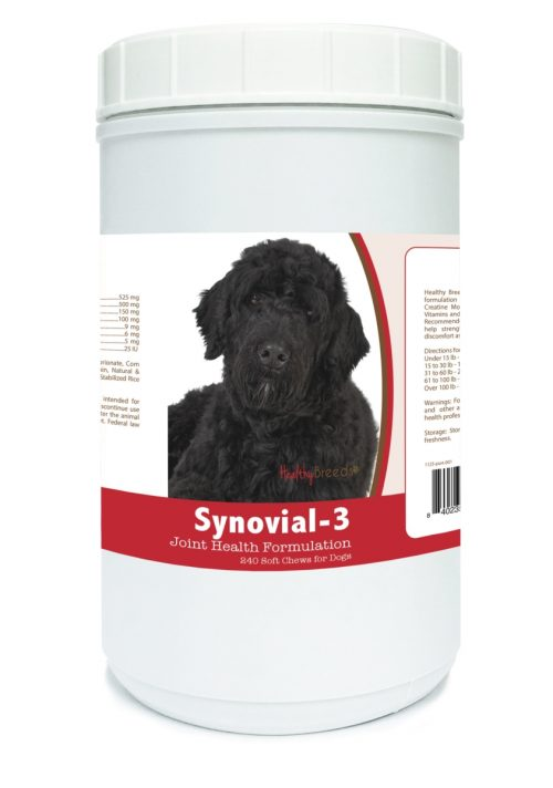 Healthy Breeds 840235112709 Portuguese Water Dog Synovial-3 Joint Health Formulation - 240 Count