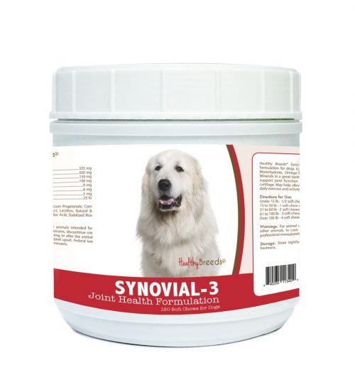 Healthy Breeds 840235113409 Great Pyrenees Synovial-3 Joint Health Formulation - 120 Count