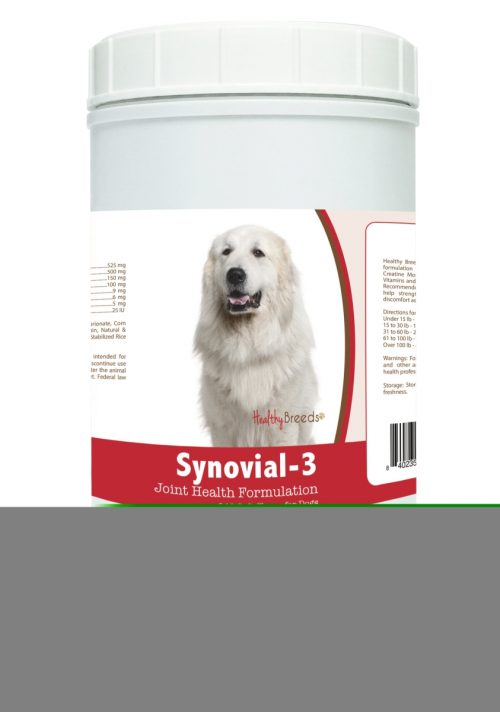 Healthy Breeds 840235113416 Great Pyrenees Synovial-3 Joint Health Formulation - 240 Count