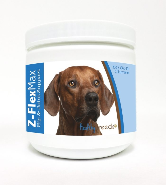 Healthy Breeds 840235113522 Rhodesian Ridgeback Z-Flex Max Hip & Joint Soft Chews - 50 Count