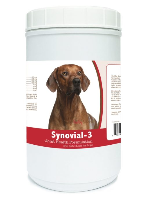 Healthy Breeds 840235113560 Rhodesian Ridgeback Synovial-3 Joint Health Formulation - 240 Count