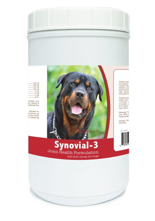 Healthy Breeds 840235113720 Rottweiler Synovial-3 Joint Health Formulation - 240 Count