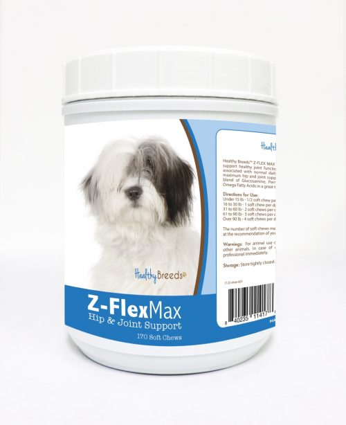 Healthy Breeds 840235114178 Old English Sheepdog Z-Flex Max Hip & Joint Soft Chews - 170 Count
