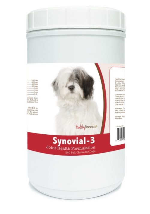 Healthy Breeds 840235114192 Old English Sheepdog Synovial-3 Joint Health Formulation - 240 Count