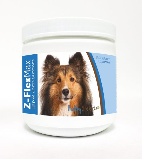 Healthy Breeds 840235114314 Shetland Sheepdog Z-Flex Max Hip & Joint Soft Chews - 50 Count
