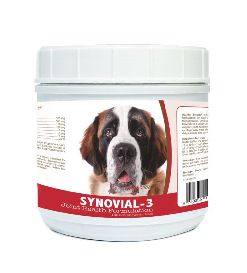 Healthy Breeds 840235115090 Saint Bernard Synovial-3 Joint Health Formulation 120 Count